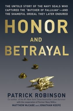 """Honor & Betrayal"" Book Cover"